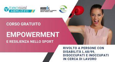 Corso Empowerment e resilienza nello sport